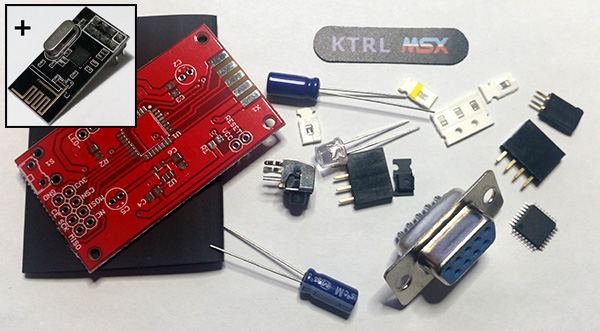 For Sale KTRL Wireless Controller PCBs and Components (CD32